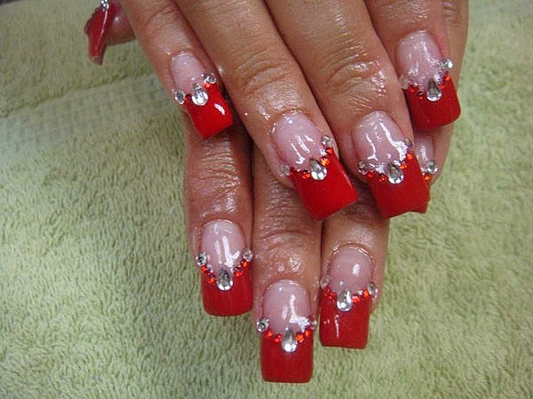 Souvent French manucure fantaisie | Fantaisy nails WU35